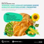 WEBINAR: Kako uzgajati ratarske usjeve koristeći biostimulatore i prebiotike [Utorak: 23.ožujka 2021. u 14 sati]